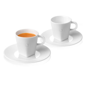 Espresso Cups & Saucers Pure Collection