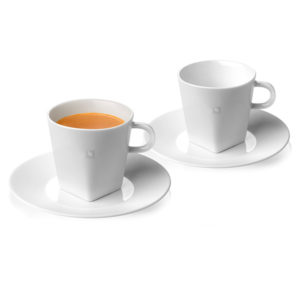 Lungo Cups & Saucers Pure Collection