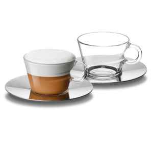 View Espresso Cups & Saucers (2Pc)